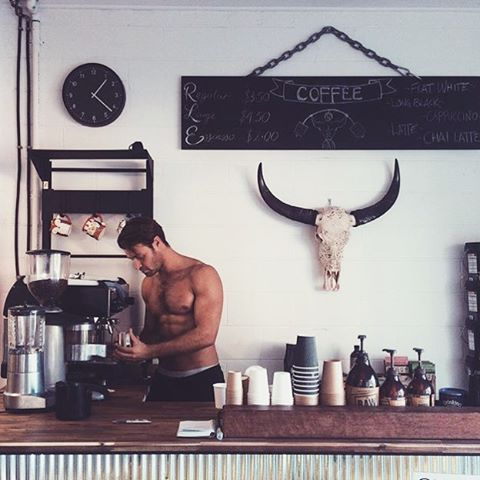Instagram men and coffee